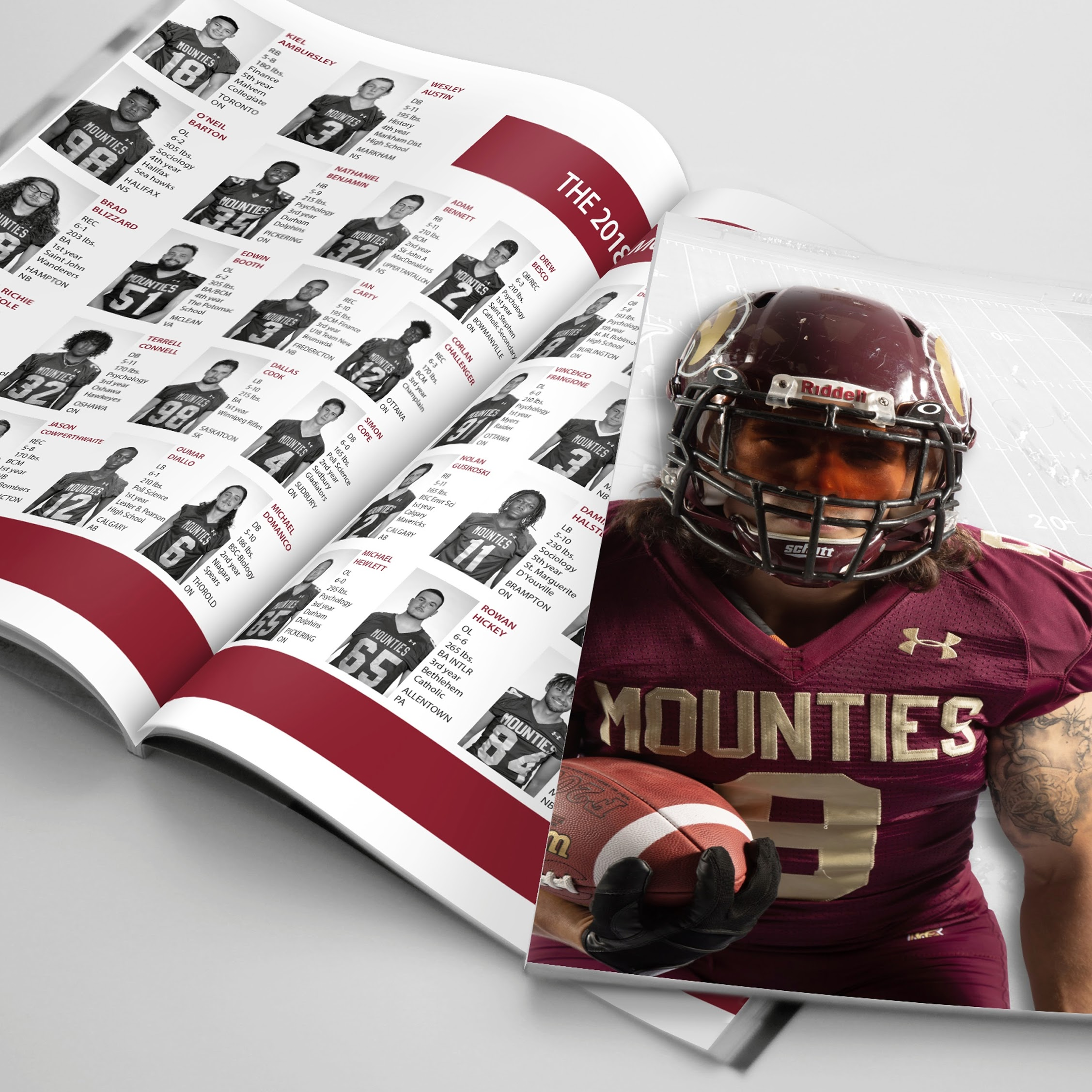 mount allison football media guide