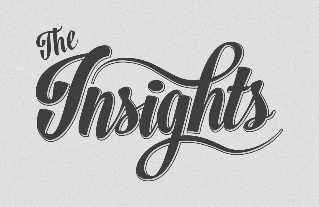 insights logo by gino caron